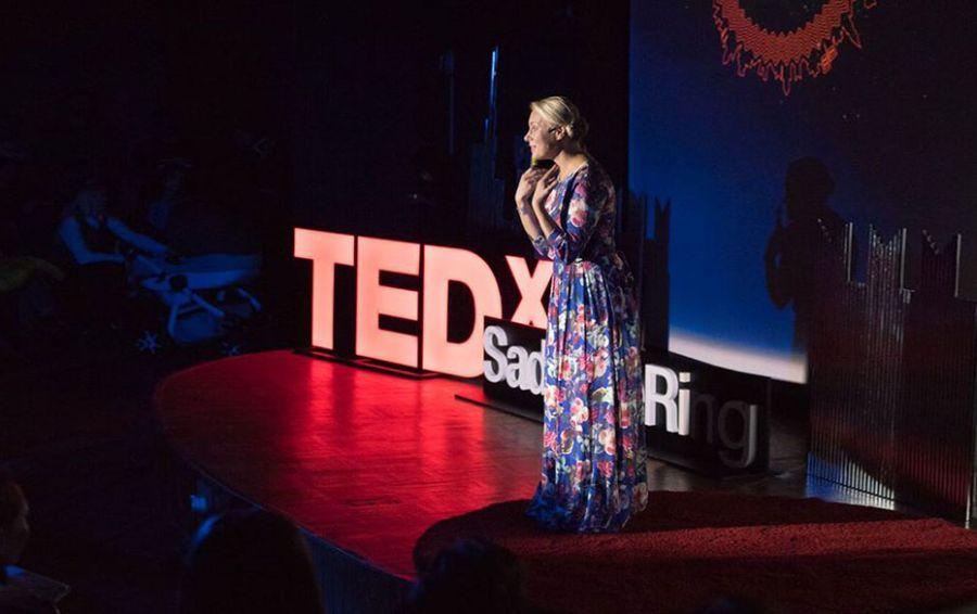 Екатерина Иноземцева на TED   Домашнее издательство Skrebeyko