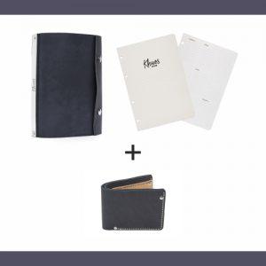 Обложка Стальная ночь, два блока и бумажник в подарок | Домашнее издательство Skrebeyko